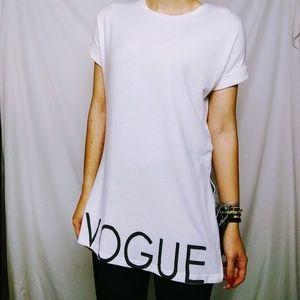 Vogue White Tee Shirt